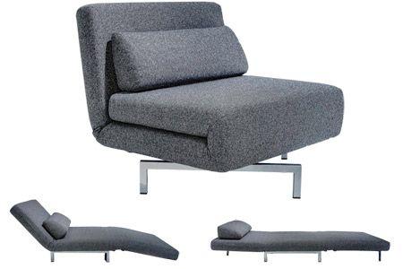 Modern Grey Futon Chair |S Chair Sleeper Futon | The Futon Sh