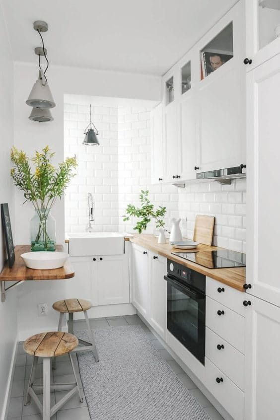20 Stunning Examples That Show How to Make a Galley Kitchen Work .