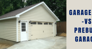 Garage Kits vs Prebuilt Garages - Classic Buildin