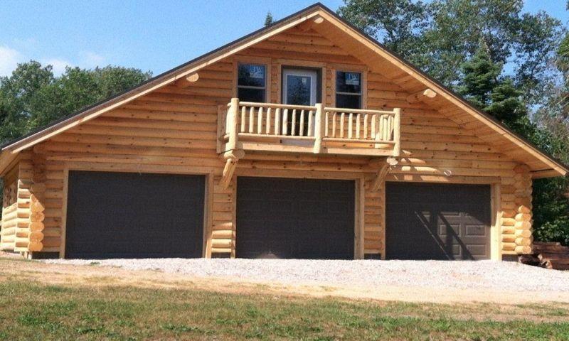 log garage with apartment plans log cabin garage kits | Garage .