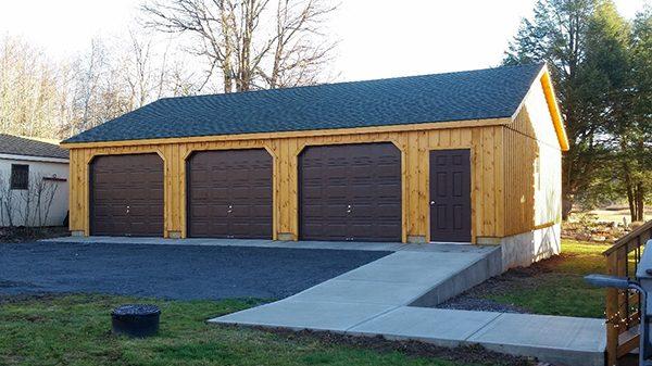 Garage Installation: Prefab High Roof Garage Ki