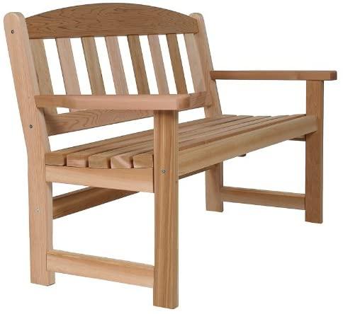Amazon.com : Cedar Garden Bench : Garden & Outdo