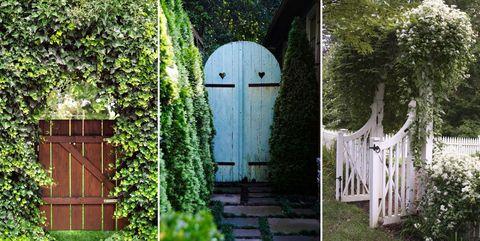 17 Best Garden Gates - Ideas for Beautiful Garden Gat