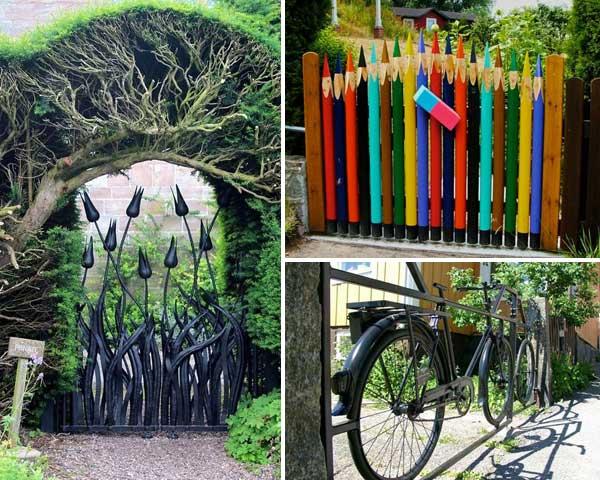 22 Beautiful Garden Gate Ideas To Reflect Style - Amazing DIY .
