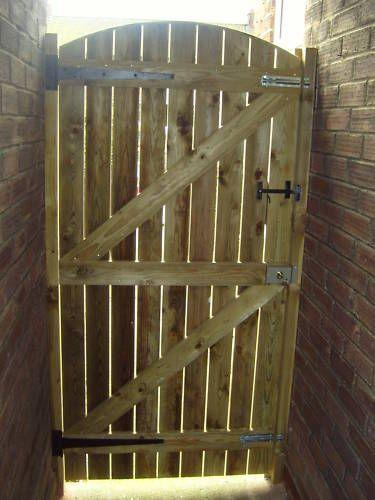 WOODEN GARDEN GATE TREATED 6FT HIGH X 33 WIDE | eBay | Wooden .