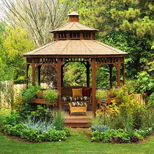 22 Beautiful Metal Gazebo and Wooden Gazebo Designs | Backyard .