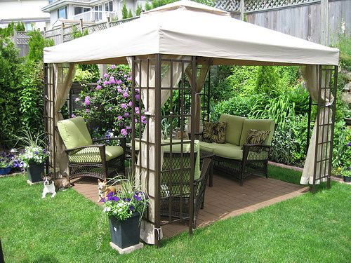 Cool-Backyard-Ideas-with-Gazebo | Inexpensive backyard ideas .