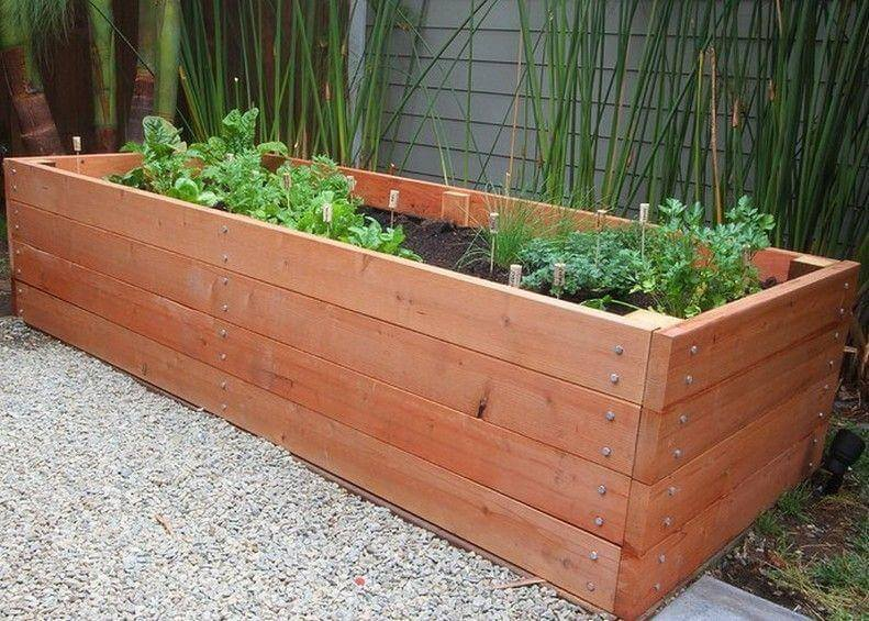 Adorable Wooden Garden Planters Ideas to Start Right away .