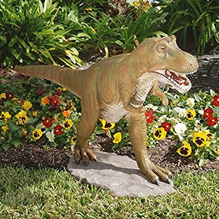 Amazon.com : Design Toscano T-Rex Dinosaur Garden Statue : Outdoor .