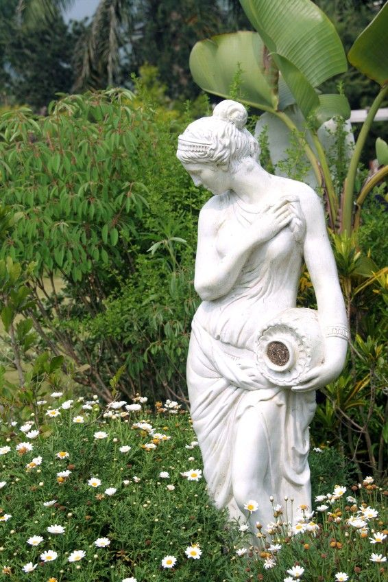 Outdoor Garden Statues Ornaments | Outdoor Garden Statues (With .