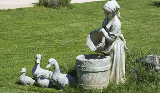How to Repair Broken Cement Garden Statues?
