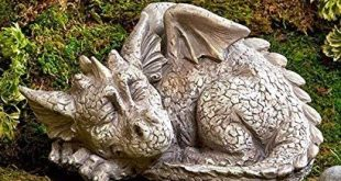 Amazon.com : Dragon Garden Statue : Garden & Outdo