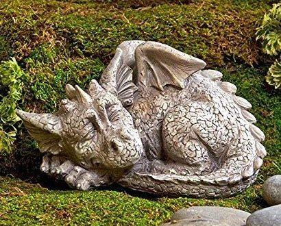 Amazon.com : Dragon Garden Statue : Garden & Outdo