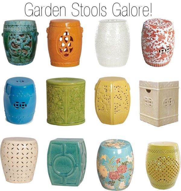 Ceramic Garden Stools | Ceramic garden stools, Outdoor garden .