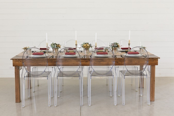 Ghost Chair Rentals - Luxury Event Rentals at Premiere Sele