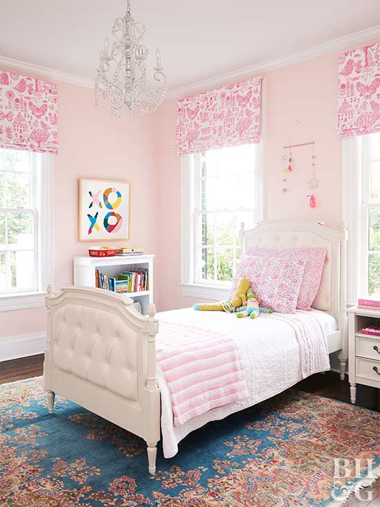 Kid's Bedroom Ideas for Girls | Better Homes & Garde