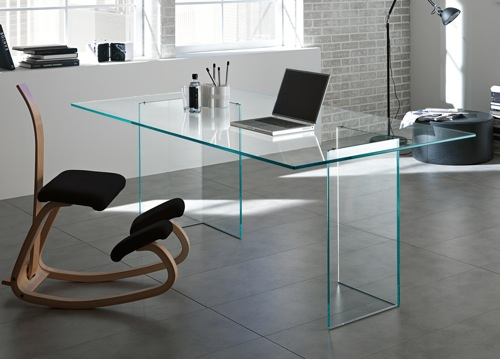 A Glass Desk: Good or Bad Feng Shui? | Open Spaces Feng Sh