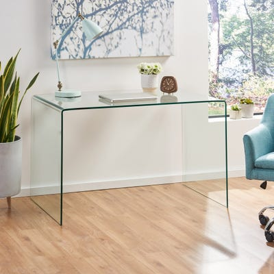 Buy Glass Desks & Computer Tables Online at Overstock | Our Best .