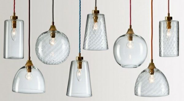 Antique Moser Glass Lamp Shades - House Insi