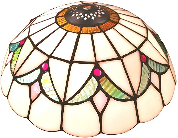 NOSHY SH-032 Premium Baroque Style Tiffany Lamp Shades .