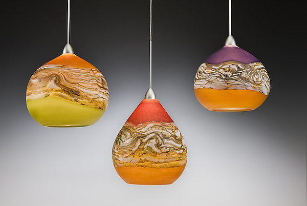 Strata Pendant Lights by Danielle Blade and Stephen Gartner (Art .