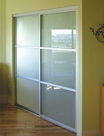 Modern Glass Closet Doors For Your Home   Glass closet doors .