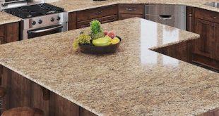 Allen + roth Santa Cecilia Granite Kitchen Countertop Sample at .