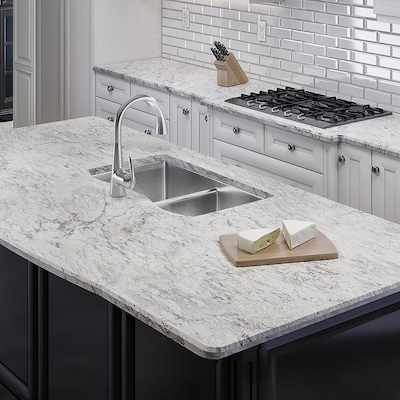 Allen + roth Barrow Granite Kitchen Countertop Sample at Lowes.c