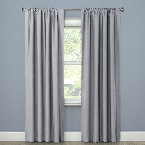 "Blackout Curtain Panel Masonry Gray 63"" - Project 62™ : Targ"