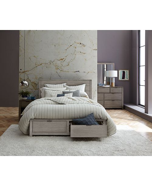 Furniture Tribeca Storage Bedroom Furniture, 3-Pc. Set (Queen Bed .