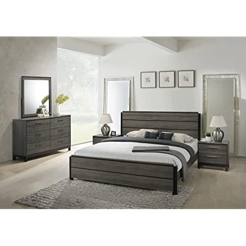 Weathered Grey Bedroom Furniture: Amazon.c