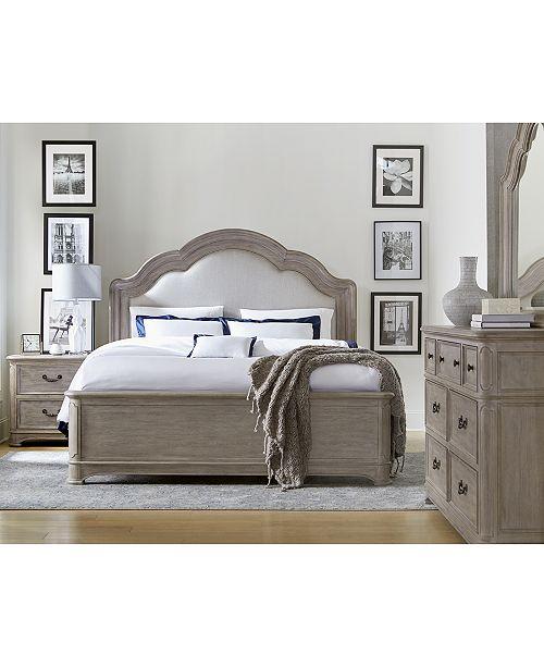 Furniture Elina Bedroom Furniture Set, 3-Pc. (Queen Bed, Dresser .