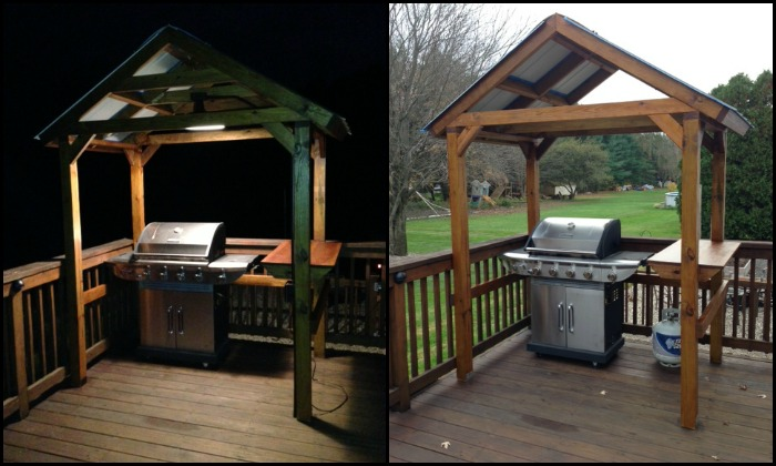 Build your own backyard grill gazebo! – Your Projects@O