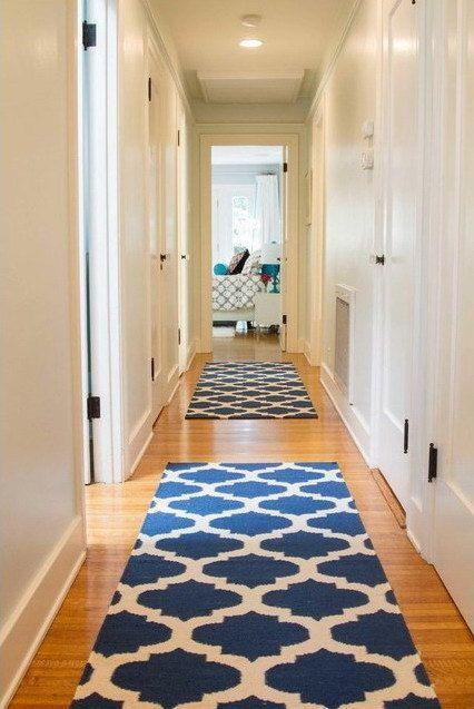 Image result for long hallway runner rugs | Hallway rug, Hallway .