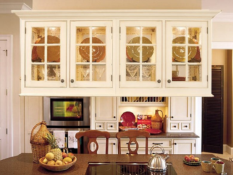 Hanging Kitchen Cabinets Glass Door Design Glass Kitchen Cabinet .