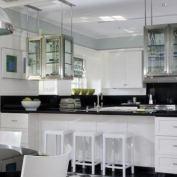 Suspended Kitchen Cabinets Design Ide