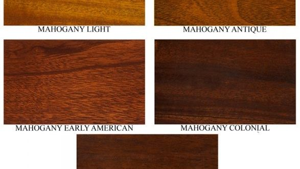 different mahogany colors | Mahogany stain colors #FS347A .