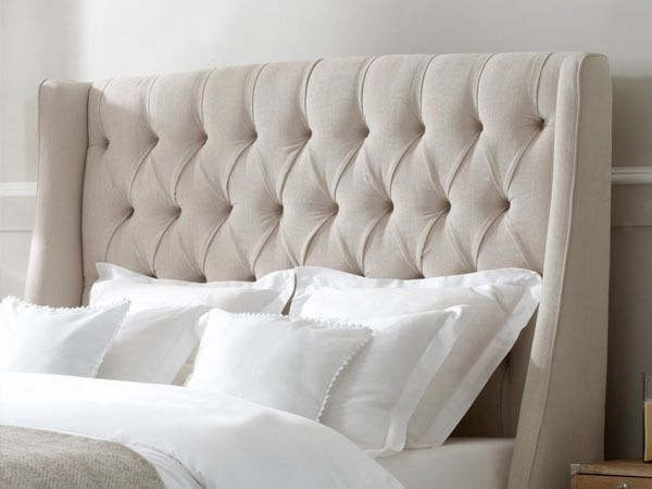 Austen Buttoned Headboard | Headboards for beds, Super king size .
