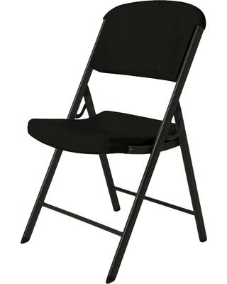 New Deal Alert: 4 Pc Lifetime Heavy Duty Folding Chair - Bla
