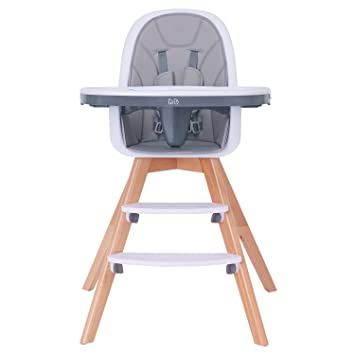 Amazon.com : Baby High Chair with Double Removable Tray for Baby .