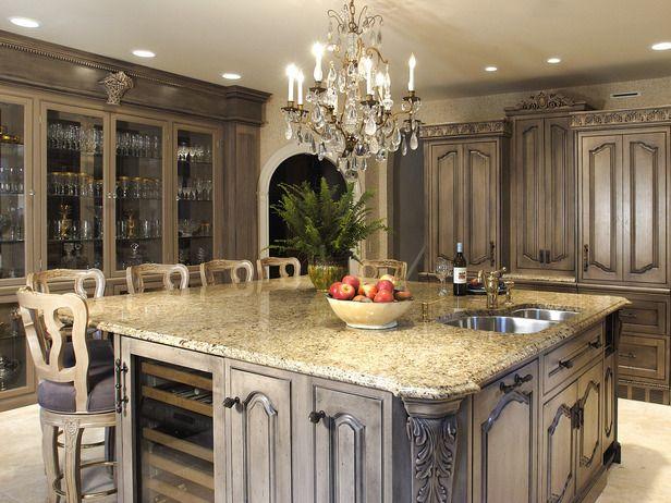 Kitchen Remodel Survey by Class | Antique kitchen cabinets .