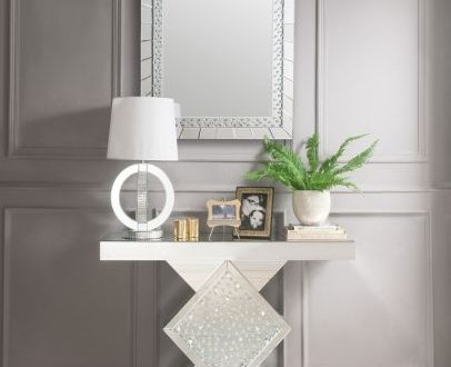 China High Quality Hall Console Table with Crystal - China Table .