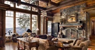 All About Home Decoration & Furniture: Country Home Interior Desi