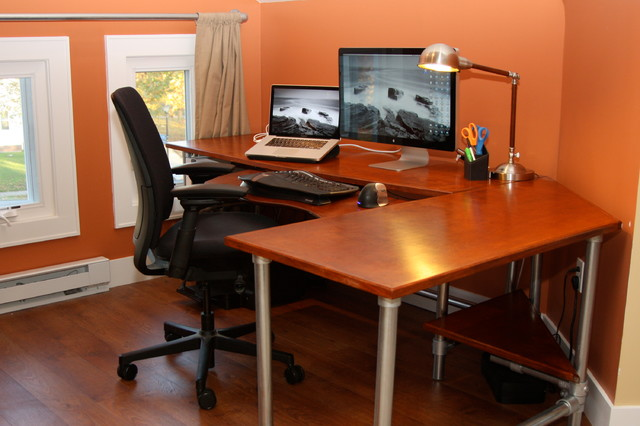 Ergonomic Computer Desk - Contemporary - Home Office - New York .