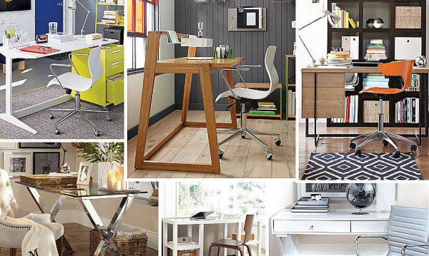 20 Stylish Home Office Computer Des
