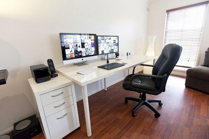 37+ DIY Computer Desk Ideas for Your Home Office (Small, Long .