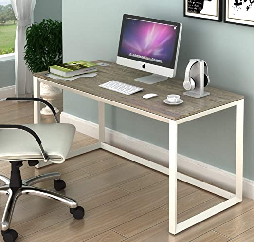 Amazon.com: SHW Triangle-Leg Home Office Computer Desk: Kitchen .