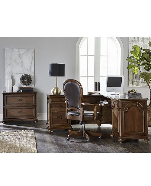 Furniture Clinton Hill Cherry Home Office Furniture Collection .