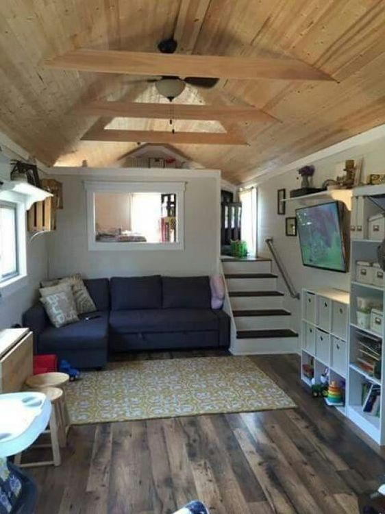 9 Smart Tiny House Interior Design Ideas - futuri