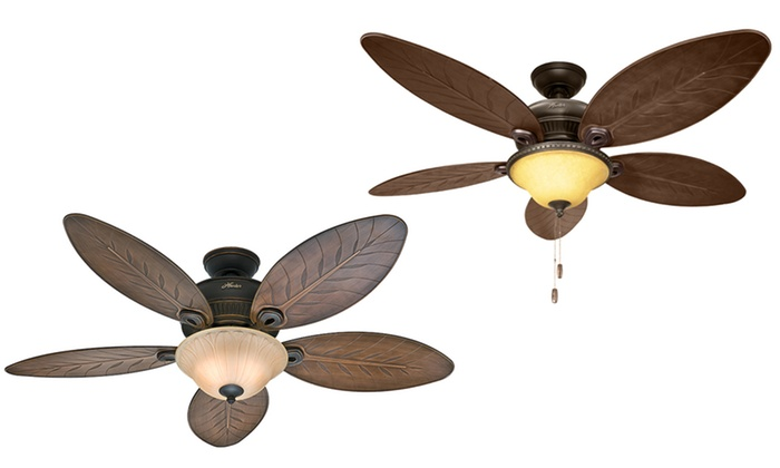 """Hunter 52"""" Outdoor Ceiling Fans 